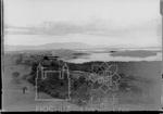 Arredores do campus da Fiocruz com vista para a Serra dos Orgãos (Acervo: COC)