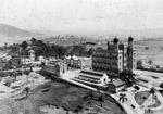 Foto do Castelo da Fiocruz e arredores no início do século 20
