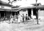 Foto do primeiros laboratórios e pesquisadores na Fazenda de Manguinhos