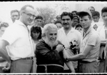 Frei Damião sendo vacinado na Paraíba, em 1969