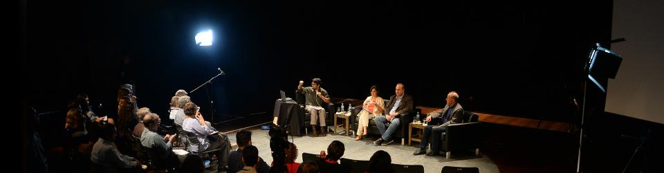 Foto da gravação do programa Sexta de Conversa