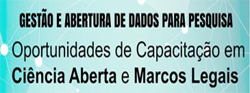 Oportunidades de Capacitação em Ciência Aberta e Marcos Legais
