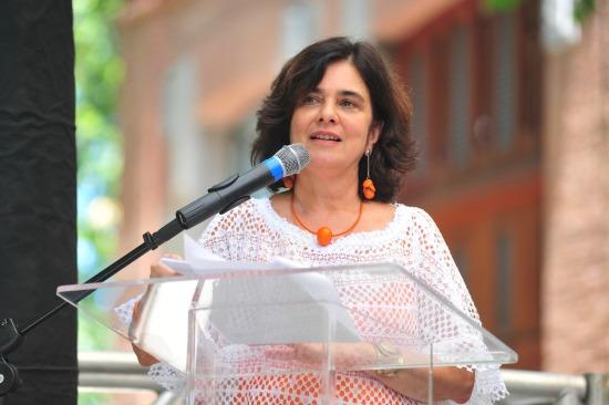 Nísia Trindade Lima recebe o cargo de presidente da Fiocru. (Foto: Peter Iliciev)