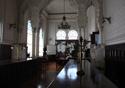 Foto do salão original da Biblioteca de Manguinhos, onde hoje se concentra o setor de obras raras