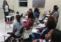 Alunos do curso em sala de aula