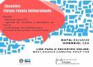 Fórum Favela Universidade realiza encontro online