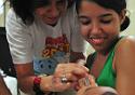 Nísia Trindade vacina criança no Fiocruz pra Você 2017