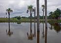 Foto de um lago no município Vale do Juruá, no Acre