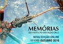 Foto de um inseto na capa da revista memórias do IOC