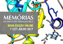 Capa da revista Memórias