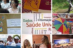Série de miniaturas de imagens da 15ª Conferência Nacional de Saúde