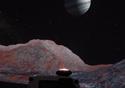 Foto do espaço sideral