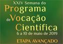Semana do Programa de Vocação Científica