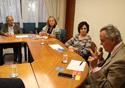Partcipantes da reunião