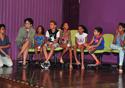 Crianças no palco