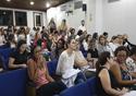Público presente no auditório lotado