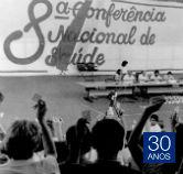 Foto histórica da 8ª Conferência Nacional de Saúde