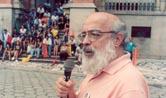 Arouca discursa em campanha da Associação de Servidores da Fiocruz