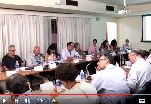 Membros do CD Fiocruz em reunião