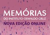 Memórias do Instituto Oswaldo Cruz - Nova edição online