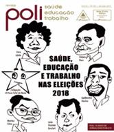 Desenho do rosto dos candidatos a presidência