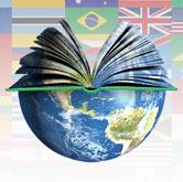 Montagem de fotos alusiva à ideia estudos internacionais