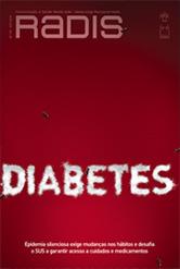 Capa da revista Radis, escrito Diabetes