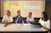 Frame de vídeo mostra especialistas da Fiocruz em mesa redonda