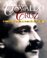Capa do livro com rosto de Oswaldo Cruz