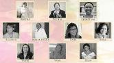 Arte com fotos de várias mulheres cientistas da Fiocruz