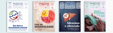 Capas da Revista Radis
