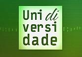 Logo do programa Unidiversidade, letras verdes sobre fundo branco