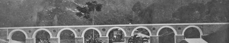 Detalhe do aqueduto antigo na região