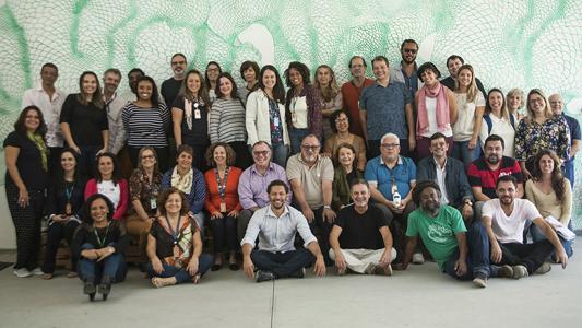 Participantes reunidos