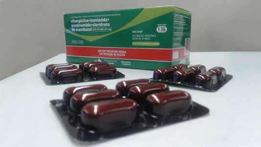 Frasco do medicamento