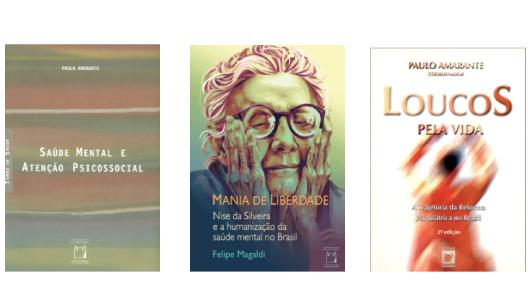 Os três livros mais vendidos na Livraria Virtual da Editora Fiocruz em 2020