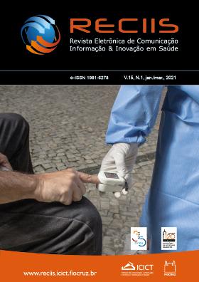 Capa da Reciis mostra um médico checando a temperatura de uma pessoa na rua
