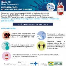 Informações sobre doação de sangue