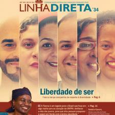 Capa do Jornal Linha Direta - Edição 34/2018