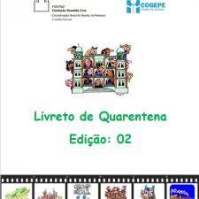 Capa do livreto da quarentena - Edição 02