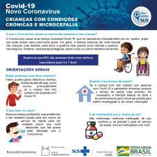 Informativo sobre crianças com microcefalia e condições crônicas