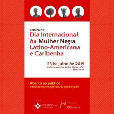 Seminário Dia Internacional da Mulher Negra Latino-Americana e Caribenha