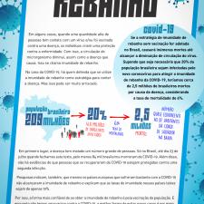 Infográfico explica o que é imunidade de rebanho