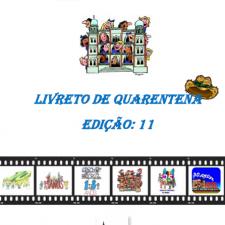 Capa do livreto da quarentena - Edição 11