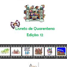 Capa do livreto da quarentena - Edição 12