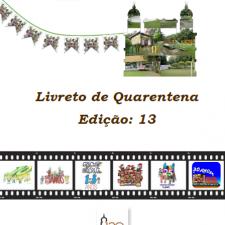 Capa do livreto da quarentena - Edição 13