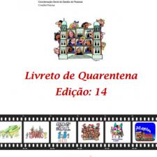 Capa do livreto da quarentena - Edição 14