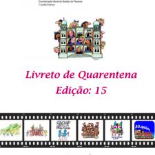Capa do livreto da quarentena - Edição 15