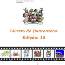 Capa do livreto da quarentena - Edição 16