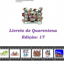 Capa do livreto da quarentena - Edição 17